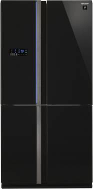 Холодильник Sharp SJ-FS97VBK черное стекло