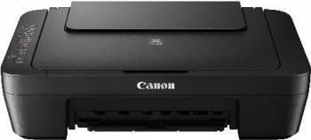 МФУ струйный Canon Pixma MG3040, максимальный формат A4, скорость печати А4: монохромная до 8стр/мин, цветная до 4стр/мин, поддержка WiFi (1346C007)