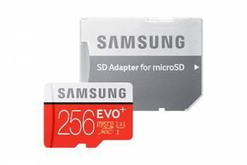Карта памяти microSD 256Gb Class10 Samsung EVO PLUS MB-MC256DA / RU