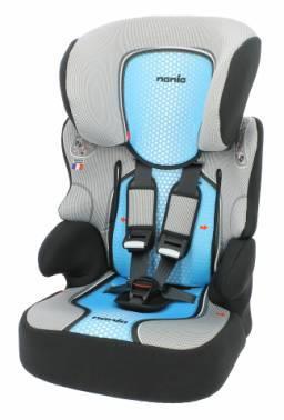 Автокресло детское Nania Beline SP FST (pop blue) голубой / серый