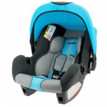 Автокресло детское Nania Beone SP FST (pop blue) черный / голубой