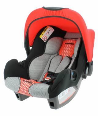 Автокресло детское Nania Beone SP FST (pop red) черный / красный