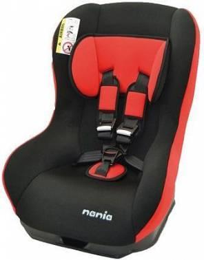 Автокресло детское Nania Basic (paprika) черный / красный