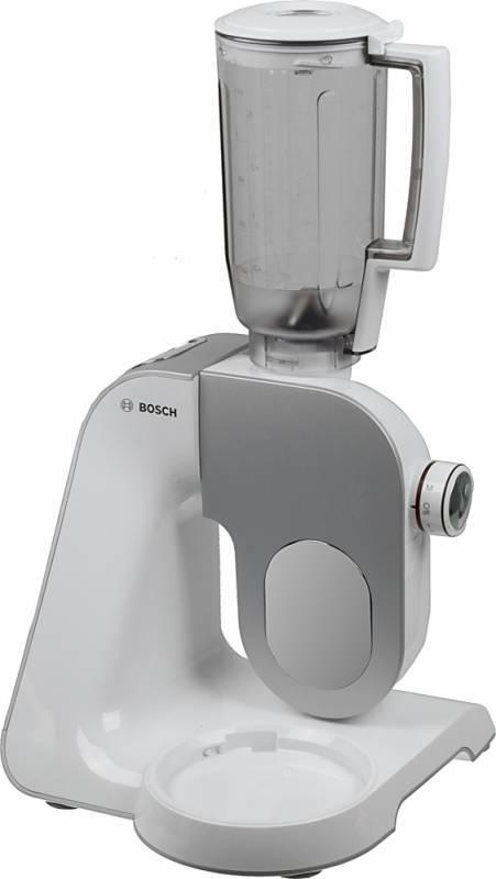 Кухонный комбайн Bosch MUM58243 серый/белый - фото 1