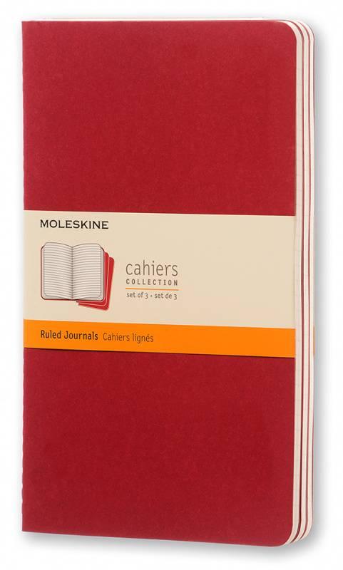 Блокнот Moleskine Cahier Journal Large клюквенный (CH116) - фото 1