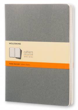 Блокнот Moleskine CAHIER JOURNAL XLarge серый (CH321)