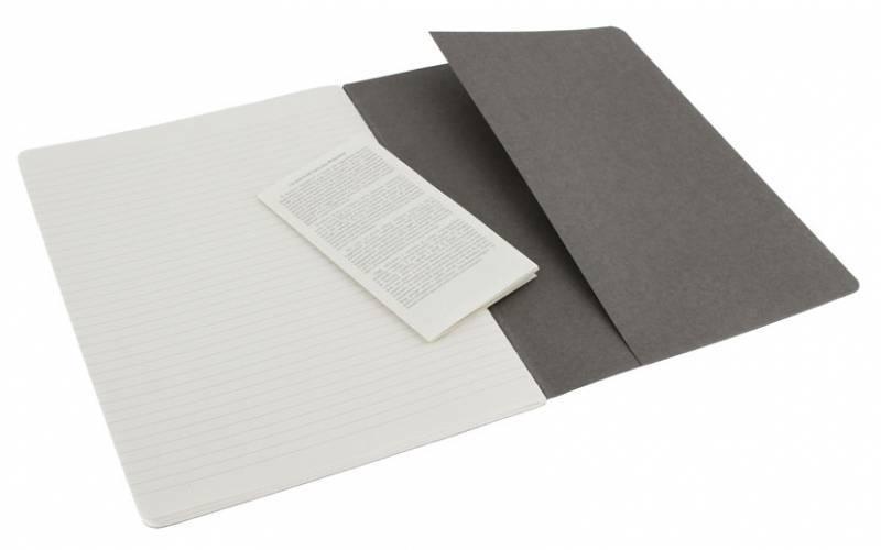Блокнот Moleskine Cahier Journal XLarge серый (CH321) - фото 4