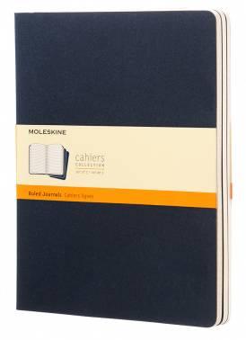 Блокнот Moleskine CAHIER JOURNAL XLarge синий индиго (CH221)