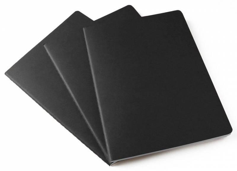 Блокнот Moleskine Cahier Journal XLarge синий индиго (CH221) - фото 3