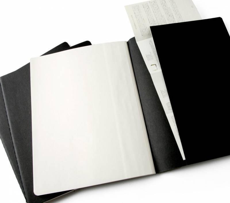 Блокнот Moleskine Cahier Journal XLarge синий индиго (CH221) - фото 4