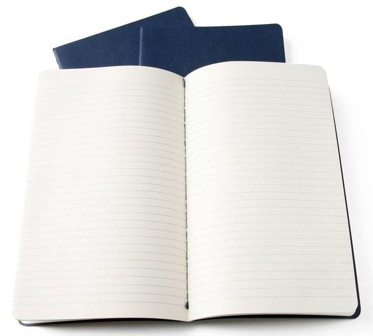 Блокнот Moleskine Cahier Journal XLarge синий индиго (CH221) - фото 5