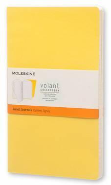 Блокнот Moleskine VOLANT Large желтый/темно-желтый (QP721M10M11)