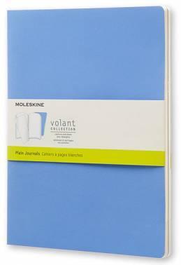 Блокнот Moleskine VOLANT Large синий/темно-синий (QP723B12B11)