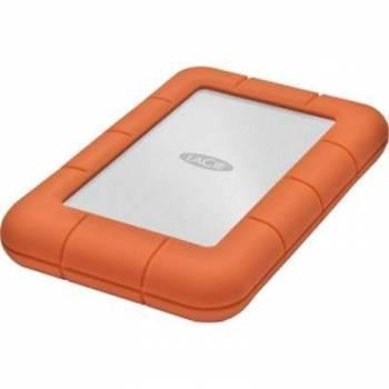 Внешний жесткий диск 1Tb Lacie LAC301558 Rugged Mini оранжевый USB 3.0