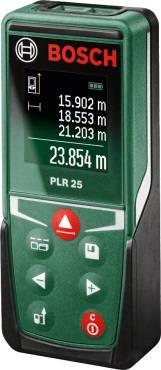 Лазерный дальномер Bosch PLR 25 (0603672521)