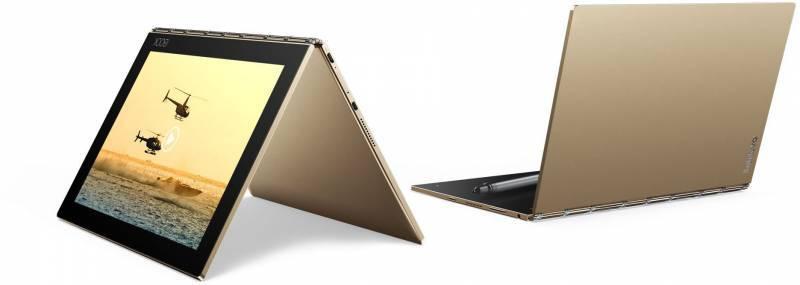 """Планшет 10.1"""" Lenovo Yoga Book YB1-X90L 64ГБ золотистый (ZA0W0014RU) - фото 1"""