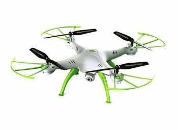 Квадрокоптер SYMA X5HW белый/зеленый