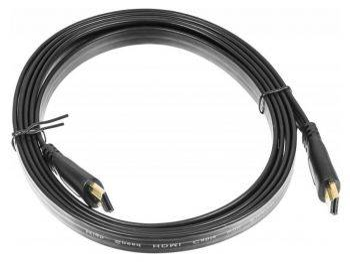 Кабель Buro Flat 2м. HDMI (m) / HDMI (m)