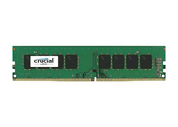 Модуль памяти DIMM DDR4 4Gb Crucial (CT4G4DFS824A) - фото 1