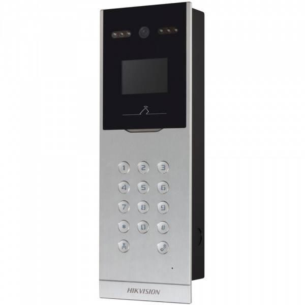 Видеопанель Hikvision DS-KD8002-VM серебристый - фото 2