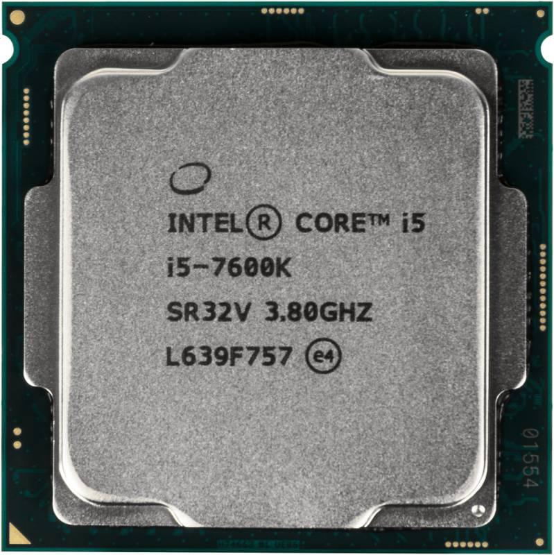 Процессор Intel Core i5 7600K Socket-1151 BOX - фото 1