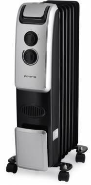 Радиатор масляный Polaris PRE B 0920 черный, мощность 2000Вт, площадь обогрева до 20м2