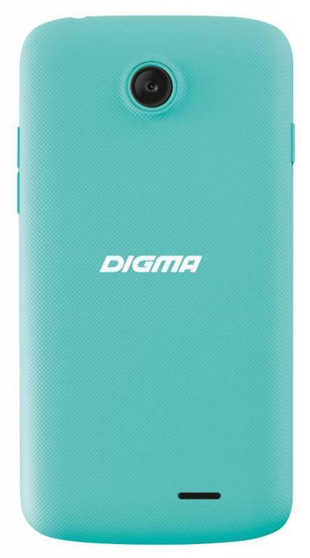 Смартфон Digma A10 3G VOX 4ГБ бирюзовый - фото 2