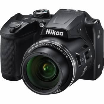 Фотоаппарат Nikon CoolPix B500 черный (VNA951E1)