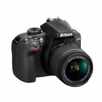 Фотоаппарат Nikon D3400 черный, 1 объектив 18-55mm non VR AF-P (VBA490K002)