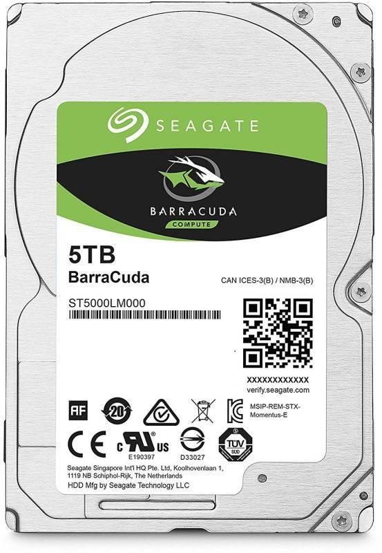 Жесткий диск 5Tb Seagate Barracuda ST5000LM000 SATA-III - фото 1