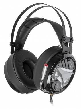 Наушники с микрофоном A4 Bloody M630 черный / серебристый