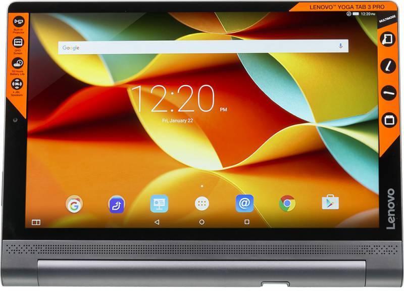 "Планшет 10.1"" Lenovo Yoga Tablet 3 Pro YT3-X90L 64ГБ черный (ZA0G0086RU) - фото 1"