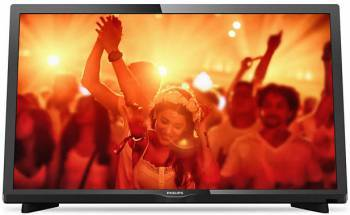 "Телевизор LED 22"" Philips 22PFT4031/60 черный"