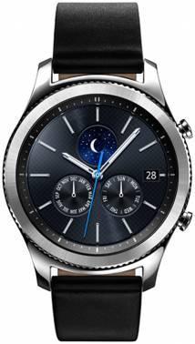 Смарт-часы SAMSUNG Galaxy Gear S3 classic SM-R770 серебристый (SM-R770NZSASER)