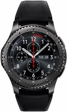 Смарт-часы SAMSUNG Galaxy Gear S3 Frontier SM-R760 титан матовый (SM-R760NDAASER)