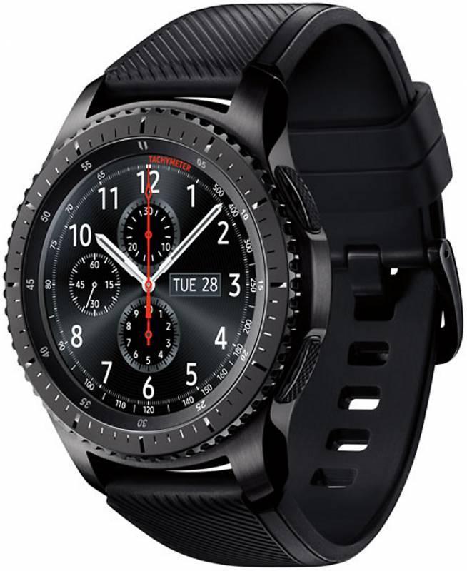 Смарт-часы SAMSUNG Galaxy Gear S3 Frontier SM-R760 титан матовый (SM-R760NDAASER) - фото 2