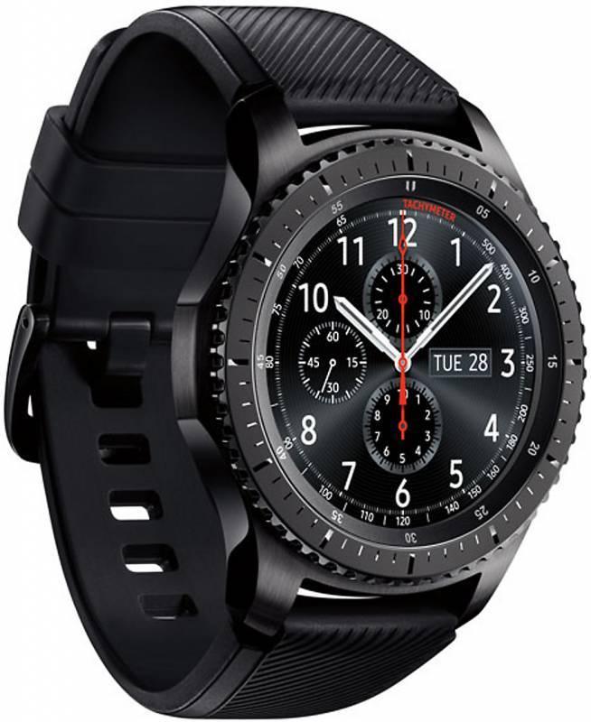 Смарт-часы SAMSUNG Galaxy Gear S3 Frontier SM-R760 титан матовый (SM-R760NDAASER) - фото 3