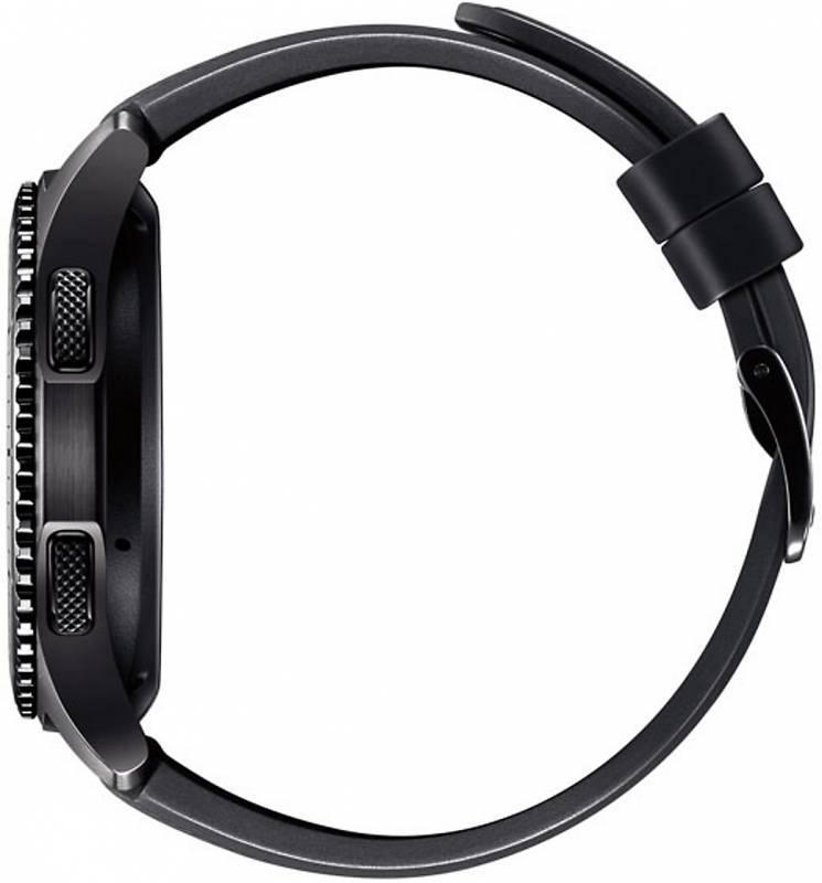 Смарт-часы SAMSUNG Galaxy Gear S3 Frontier SM-R760 титан матовый (SM-R760NDAASER) - фото 4