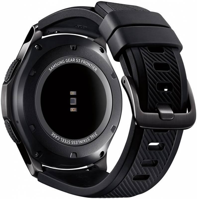 Смарт-часы SAMSUNG Galaxy Gear S3 Frontier SM-R760 титан матовый (SM-R760NDAASER) - фото 6