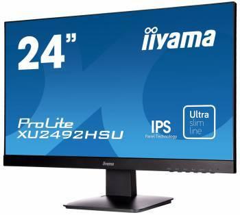 """Монитор 23.8"""" Iiyama ProLite XU2492HSU-B1 черный"""