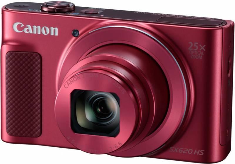Фотоаппарат Canon PowerShot SX620 HS красный (1073C002) - фото 1