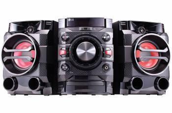 Минисистема LG DM5360K черный (DM5360K.ARUSLLK)