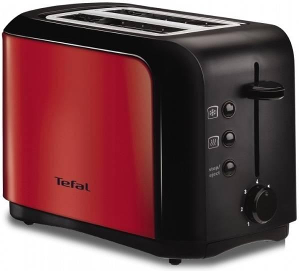 Тостер Tefal TT356E30 красный/черный (1500578364) - фото 1