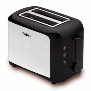 Тостер Tefal TT356131 серебристый / черный