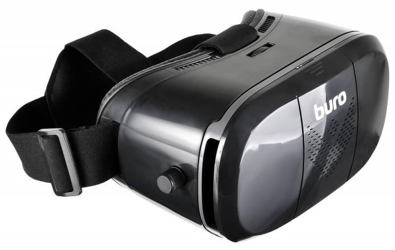 Очки виртуальной реальности BURO VR-369 черный - фото 5