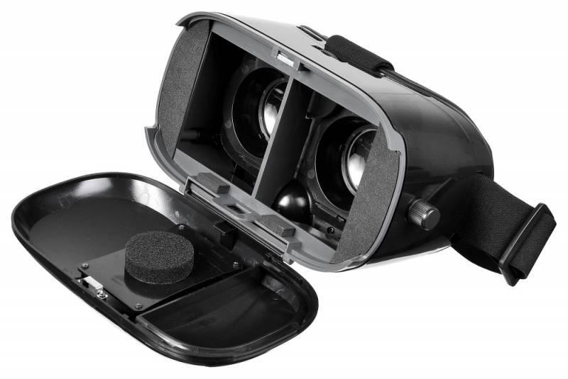 Очки виртуальной реальности BURO VR-369 черный - фото 7