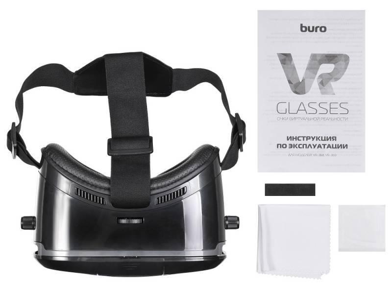 Очки виртуальной реальности BURO VR-369 черный - фото 9