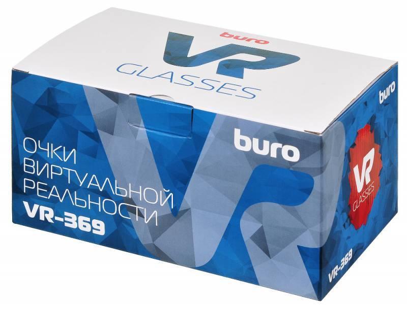 Очки виртуальной реальности BURO VR-369 черный - фото 11