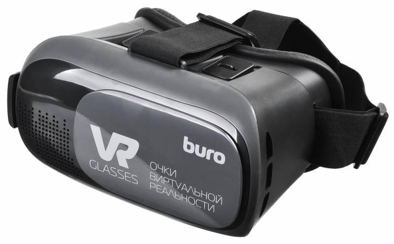 Очки виртуальной реальности BURO VR-368 черный - фото 1