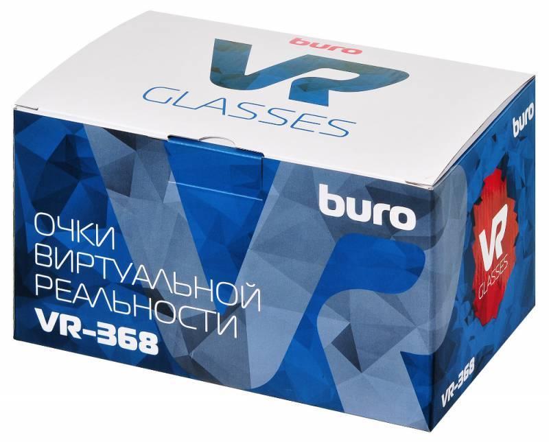 Очки виртуальной реальности BURO VR-368 черный - фото 9